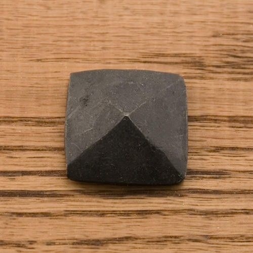 Hand-Forged Iron Square Pyramid Nail Head Clavos - Set of 6