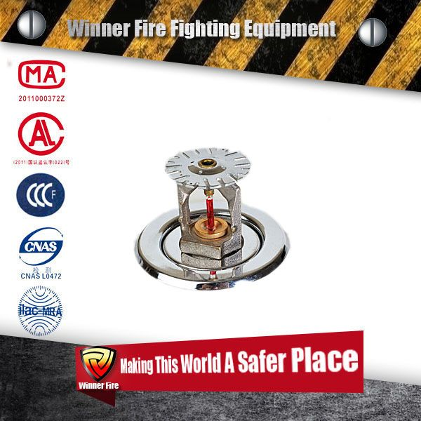 Portable fire fighting Water sprinklers for sale, low price Water sprinklers,glass bulb Water sprinklers
