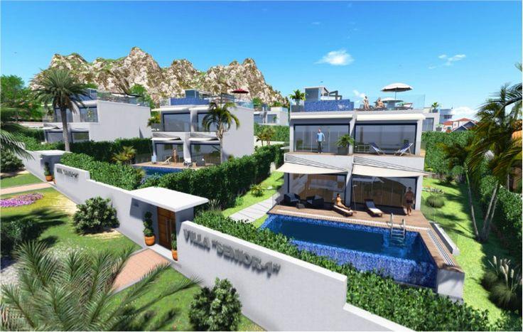 #Modern #Design #Villas in Puerto Banus For Sale More info:http://bablomarbella.com/en/listing/spain/costa-del-sol/puerto-banus/villa/223/