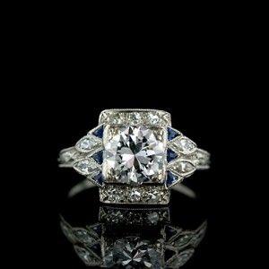 <3 art deco jewelry