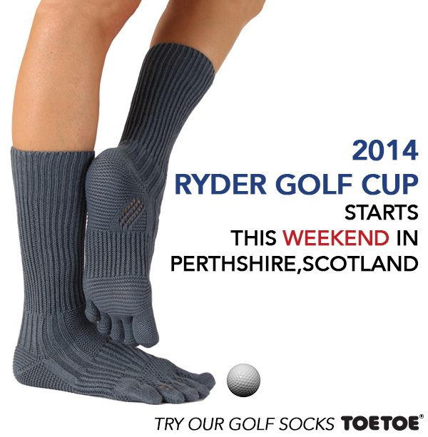 Ryder Cup this weekend!  #TOETOESocks #TOETOE #RYDERCUP #GOLF #toesocks