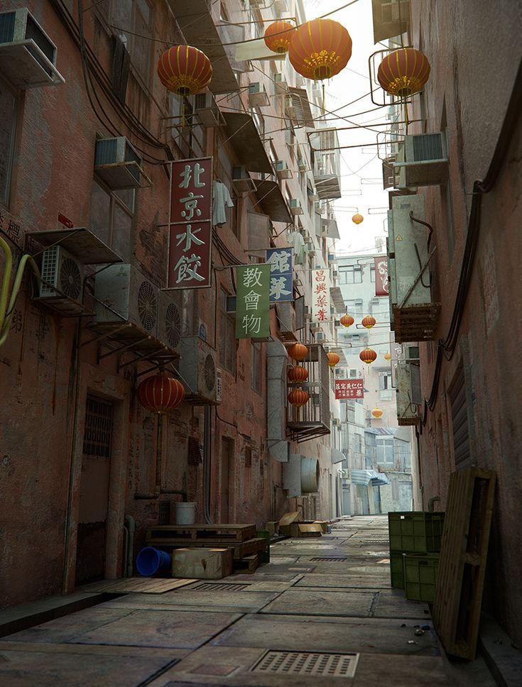 Как создать городскую сцену в Maya? | 3DPAPA.RU