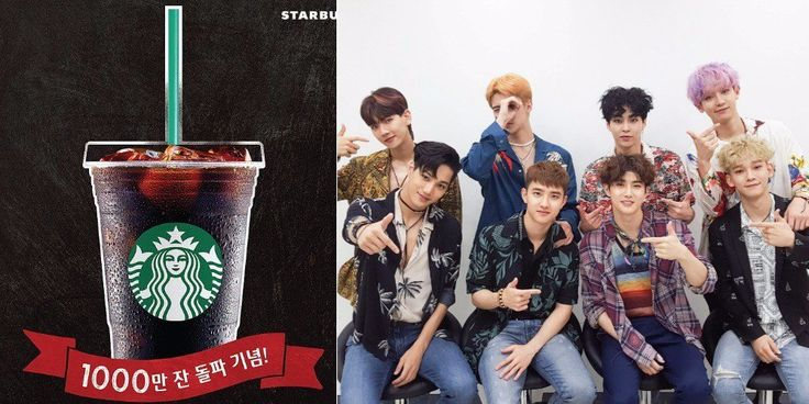 Starbucks Korea criticized for 'being biased' after using EXO's song in their tweet http://www.allkpop.com/article/2017/08/starbucks-korea-criticized-for-being-biased-after-using-exos-song-in-their-tweet