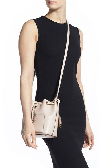 c571eff075c2 MICHAEL Michael Kors  Small Greenwich  Leather Bucket Bag available at   Nordstrom