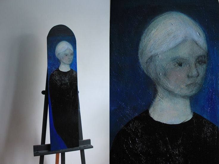 Gushtyuk Julia  Acrylic on canvas   Yearning
