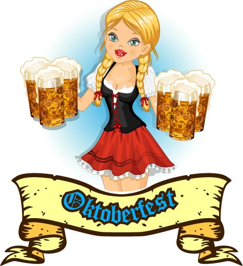 vectores - mundo de la cerveza 2c