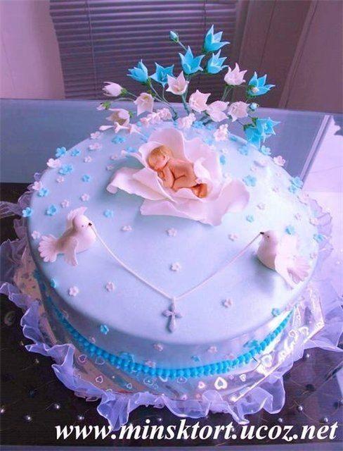 Торт на крестины . (подборка) – 80 photos   VK