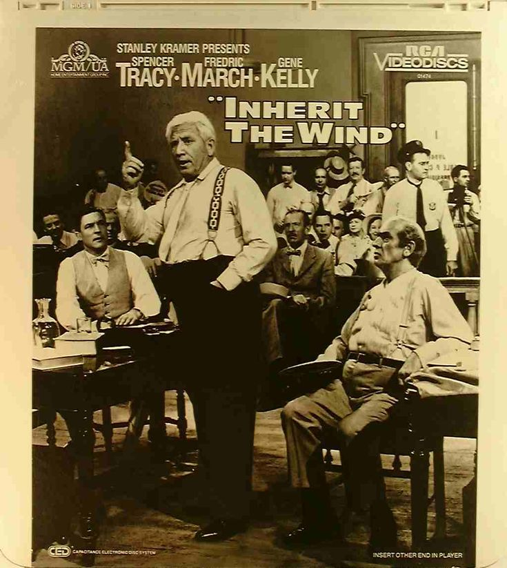 Inherit the Wind (1960) - Hollywood giants Spencer Tracy and Frederick March go head-to-head. Original movie poster.   http://scottgronmark.blogspot.co.uk/2016/03/my-alternative-to-american-film.html