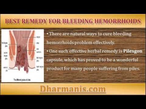 This video describes about natural ways to cure bleeding ...