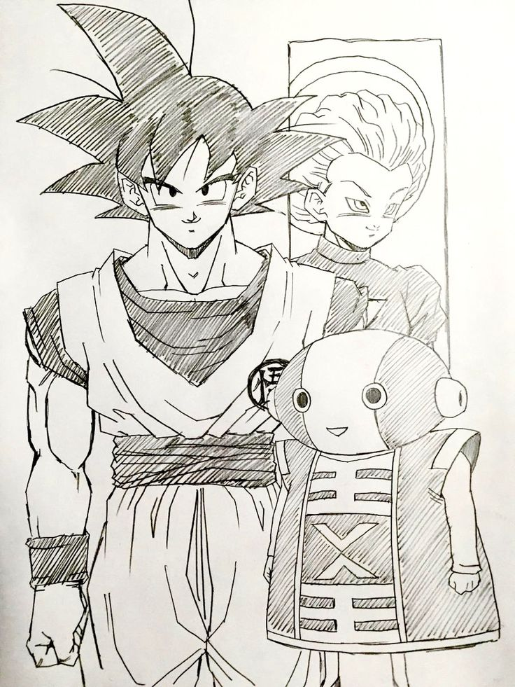 """""""Higher power"""" drawn by: young Jijii. Found by: #SonGokuKakarot"""