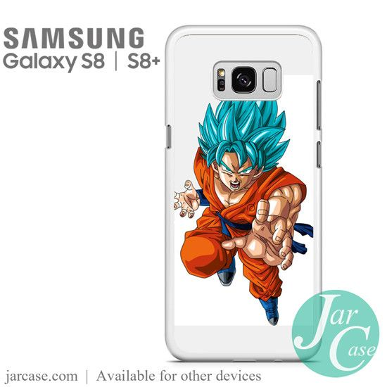 Dragonball Z Son Goku saiyan Blue 2 Phone Case for Samsung Galaxy S8 & S8 Plus