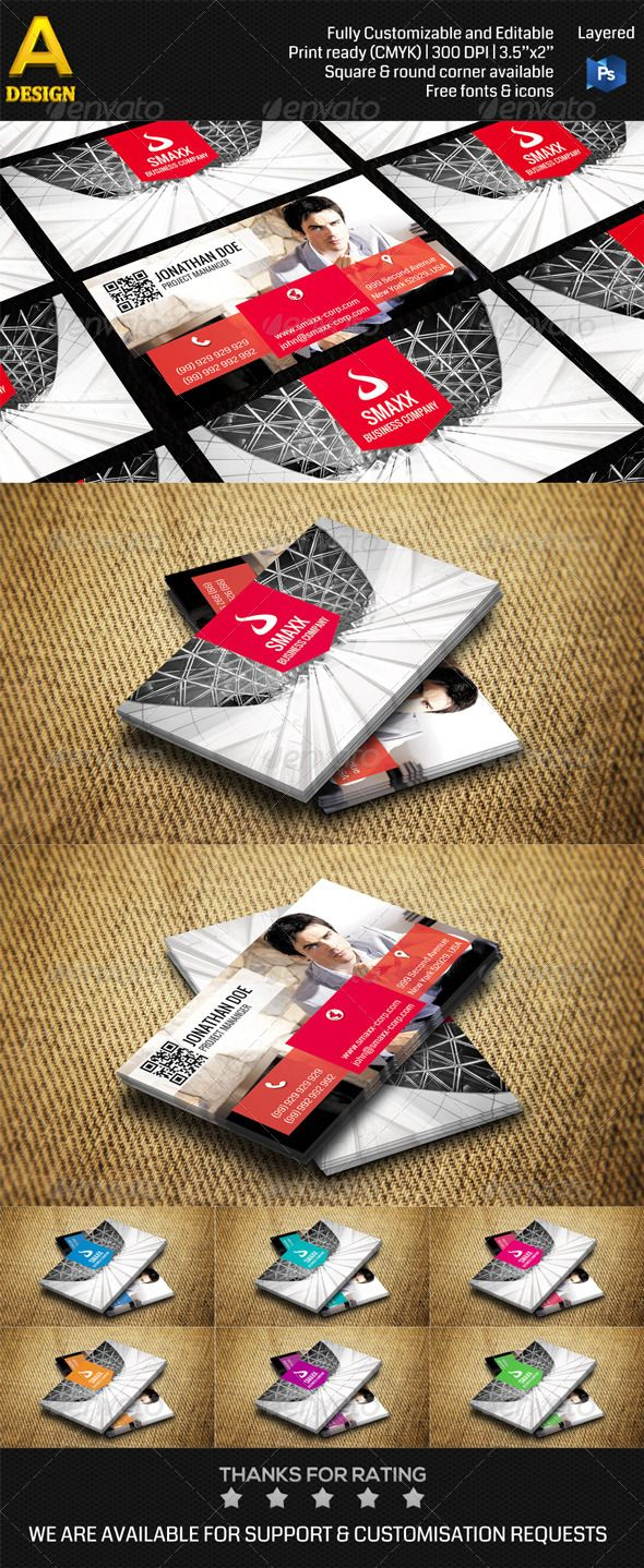 Corporate Business Card AN0218