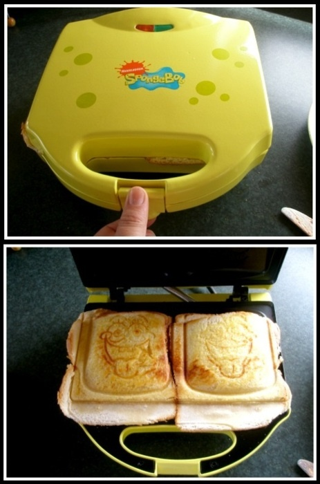"Nick Rawcliffe tells us 5 things he likes - ""My spongebob cheese toastie machine, best £12 I ever spent."" #NickRawcliffe"