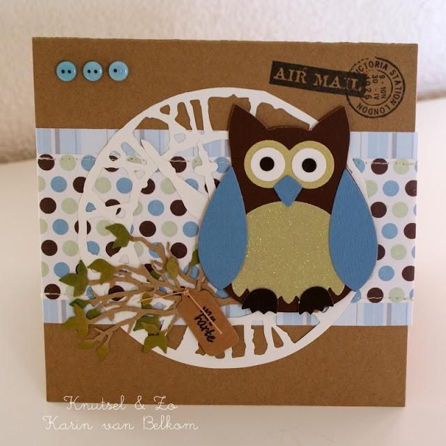 Marianne Design Creatable Owl
