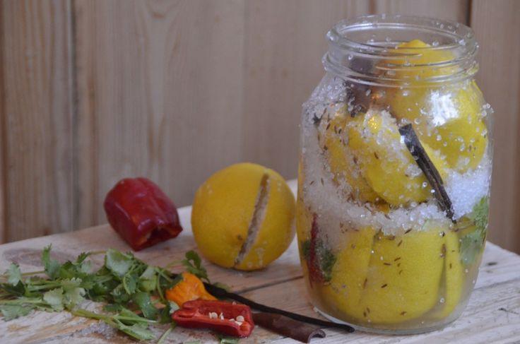 Saltede citroner