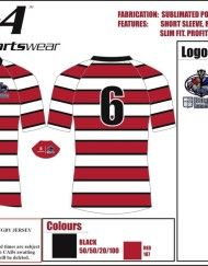 CAD - Sublimated rugby jersey MOD PROFIT