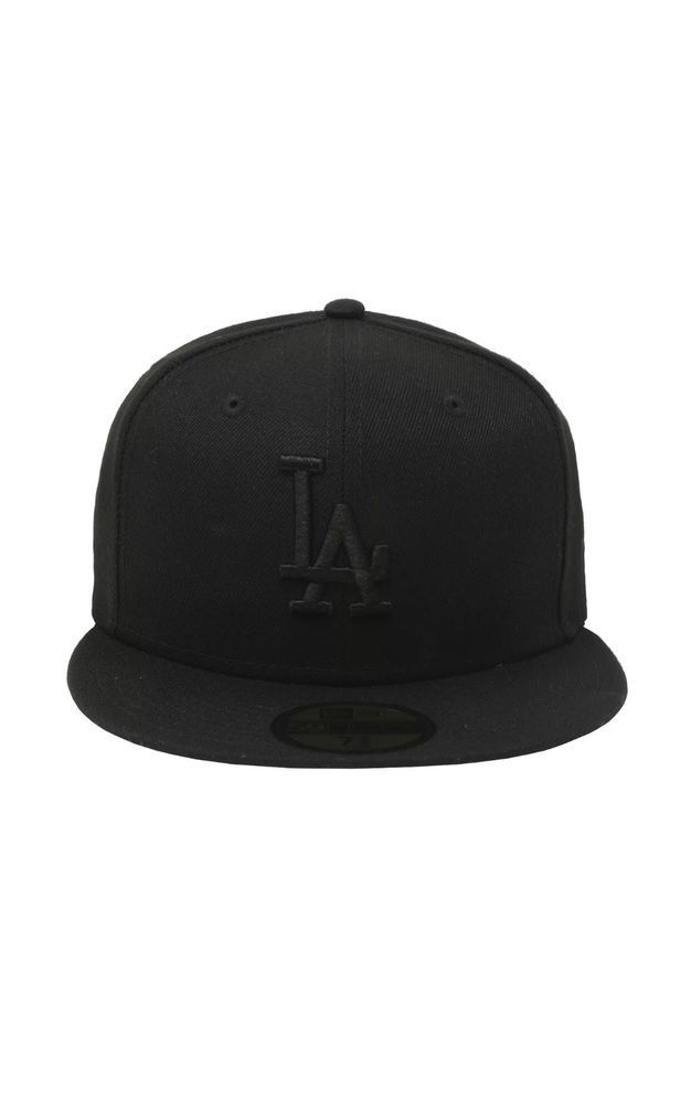 buy online 9d59d 71d00 New Era 59fifty LA Dodgers Hat Black On Black Size 7 1 4  fashion  clothing   shoes  accessories  mensaccessories  hats (ebay link)
