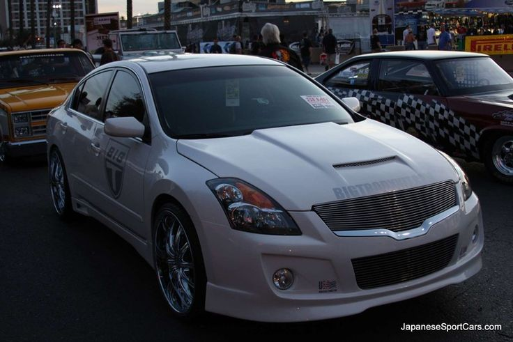 2007 Nissan Altima Custom | Custom Nissan Altima sedan (2007-?) 4th generation with BigT bodykit ...