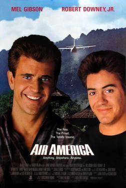 Mel Gibson - Air America (1990) Movie Poster