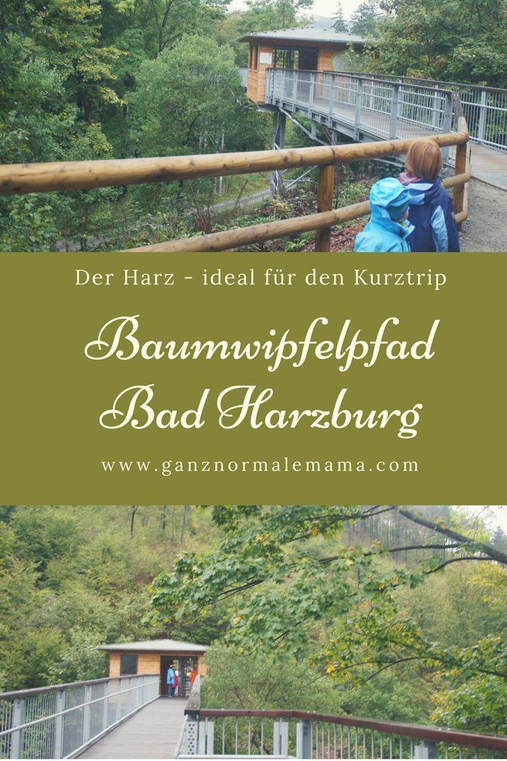Beautiful Harz mit Kindern Baumwipfelpfad in Bad Harzburg