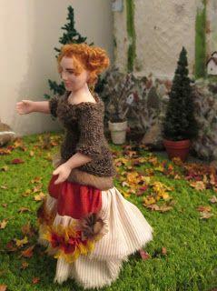 the doll by Taru Astikainen, styling by Hanna & Leijona