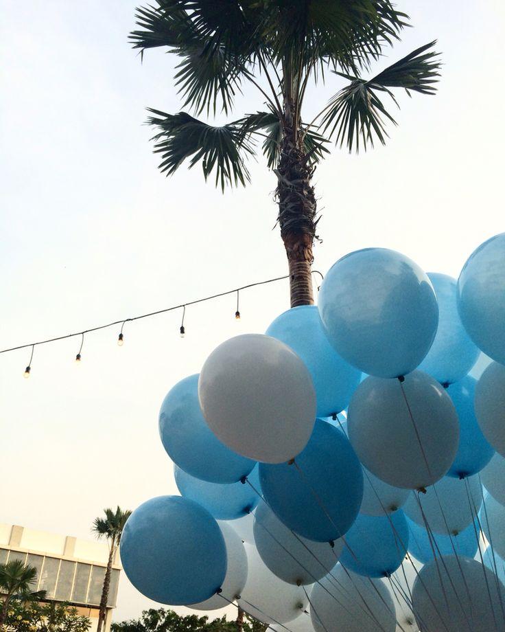 Release  #baloon #blue #sky