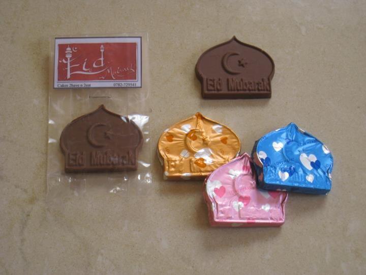 Home-made Eid chocolates :)