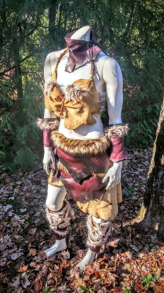Women's Warrior Costume Tribal Costume Barbarian by PrimalForged