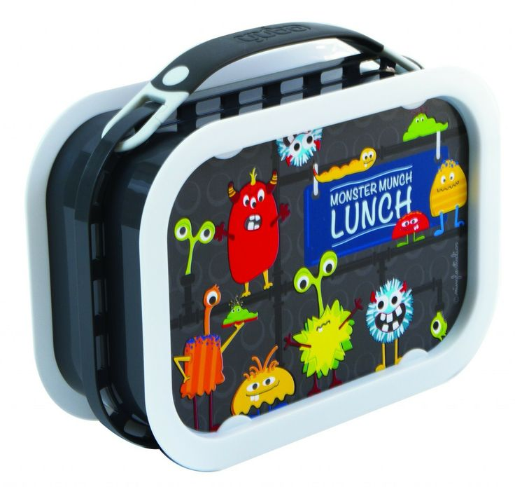 Creative Kidlets 101 - Yubo Lunchbox - Monster (Dark Grey), $29.95 (http://www.creativekidlets101.com.au/out-about/lunchboxesyubo-lunchbox-monster-dark-grey)