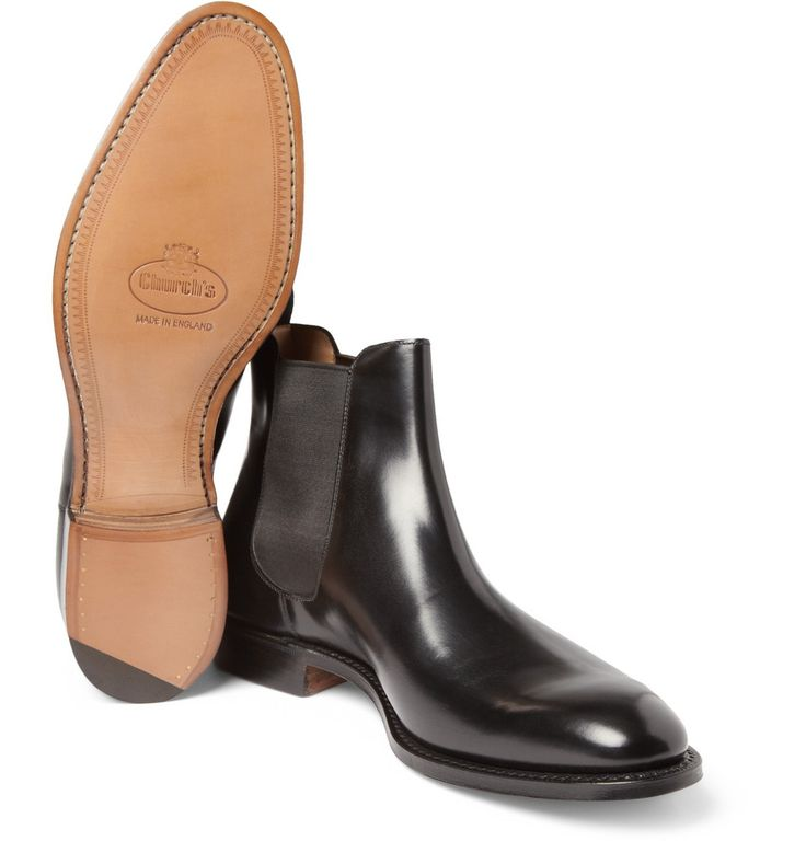 CHURCH'S / Beijing Leather Chelsea Boots