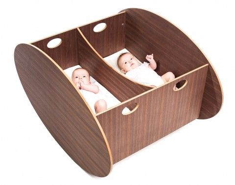The so-ro cradle retails for $800 and $1200 for the twin version.