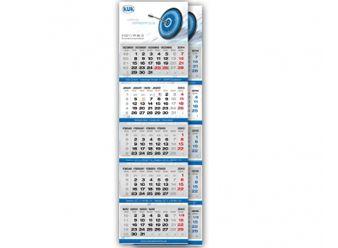5-Monatskalender, Werbekalender mit Aufdruck