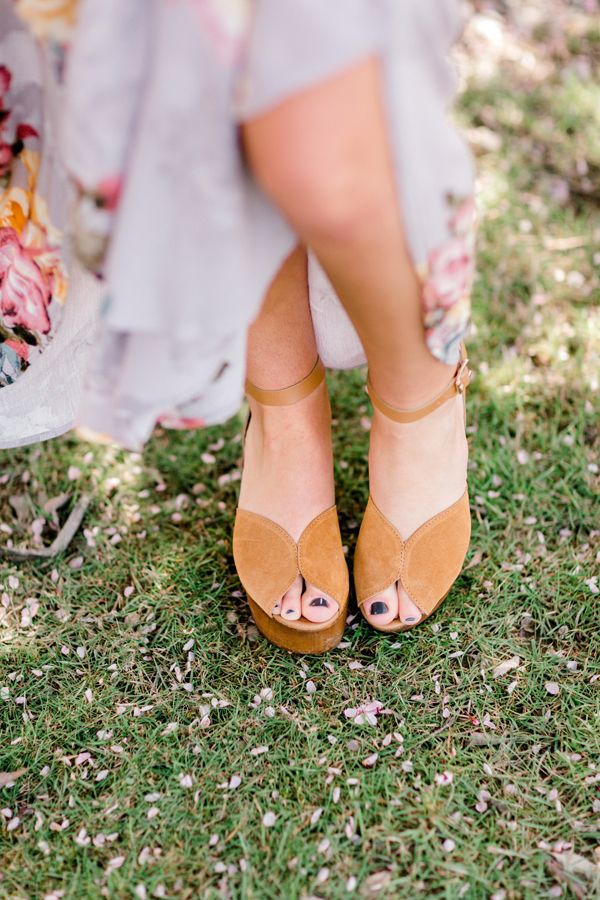 9f1da927200 These Seychelles Laugh More peep toe platform wedges are the perfect shoes  for an outdoor spring or summer wedding!