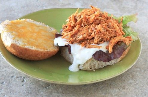 If you're a fan of buffalo chicken, you will surely love this quick and easy slow cooker meal.