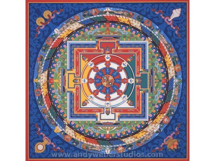 62 Deity Heruka Chakrasamvara Mandala