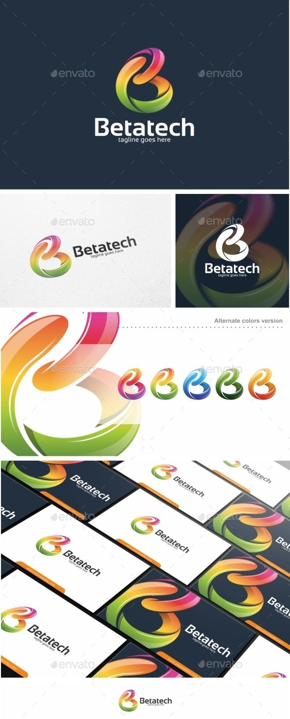 Abstract Colorful B Letter Vol. 02  - Logo Design Template Vector #logotype Download it here: http://graphicriver.net/item/abstract-colorful-b-letter-vol-02-logo-template/11444438?s_rank=587?ref=nesto