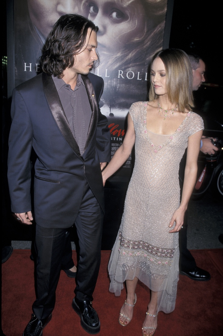 Johnny Depp & Vanessa Paradis - Sleepy Hollow premiere, November 17th 1999