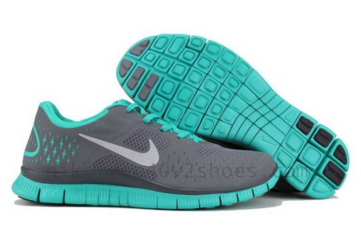 grey and turquoise nike shoes