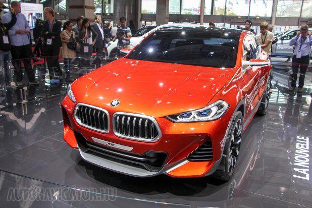 Csupán tanulmány még a BMW X2, viszont nagy rá az esély, hogy hamarosan − úgy két év múlva − teljes valójában is láthatjuk. Az X-es modellek közötti rést tölti majd be az X1 kupéváltozata