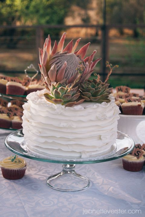 #GingerGooseWedding cake by www.TheCupcakeLady.co.za