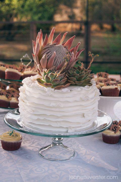 #GingerGooseWedding cake by www.TheCupcakeLady.co.za