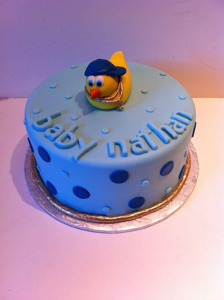 Gansta Baby Baby Shower Cake