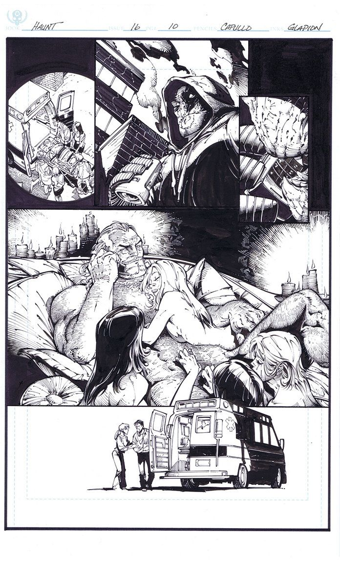 Big Pimpin - Pencil by Greg Capullo & Ink by Jonathan Glapion