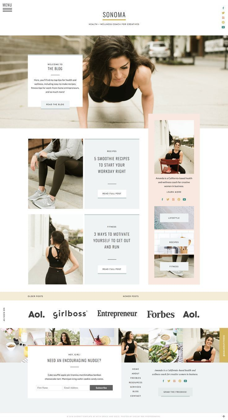 With Grace And Gold Branding Web Design And Education For Creative Women In Business Brand Bra Website Design Inspiration Web Design Wordpress Web Design