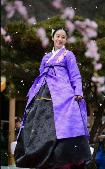 The Purple Hanbok..