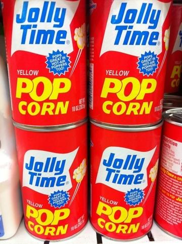 Retro American style packaging in Brunei.