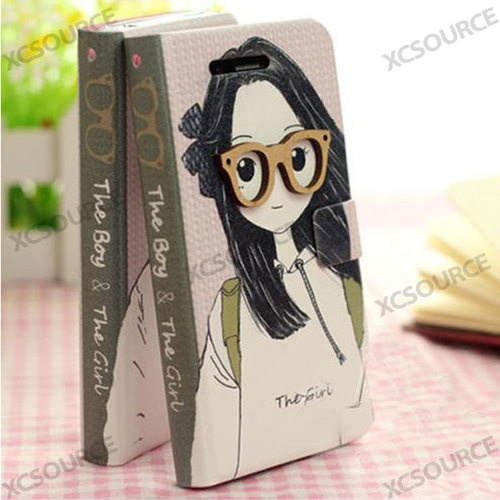 Leather Case Cover Wallet for Samsung Galxy S4 I9500 S3 Mini I8190 Note II N7100 - 10$
