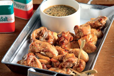 Μπουκιές κοτόπουλου με γλυκόξινη σάλτσα - Συνταγές   γαστρονόμος