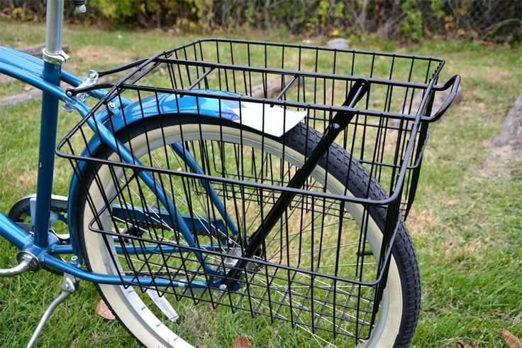 Bike Basket Rear Rack Lovely Bicycle Wald Rear Folding Baskets Up Close Cruiser Bike Rear Rack Basket Bicycle Rear Rack Folding Basket Baskets Bike Basket Rear Rack