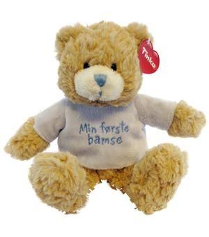 Min første bamse (fødselsgave fra Jarle & Mina)